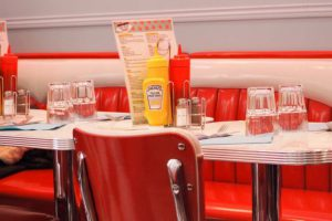 photo table diner americain